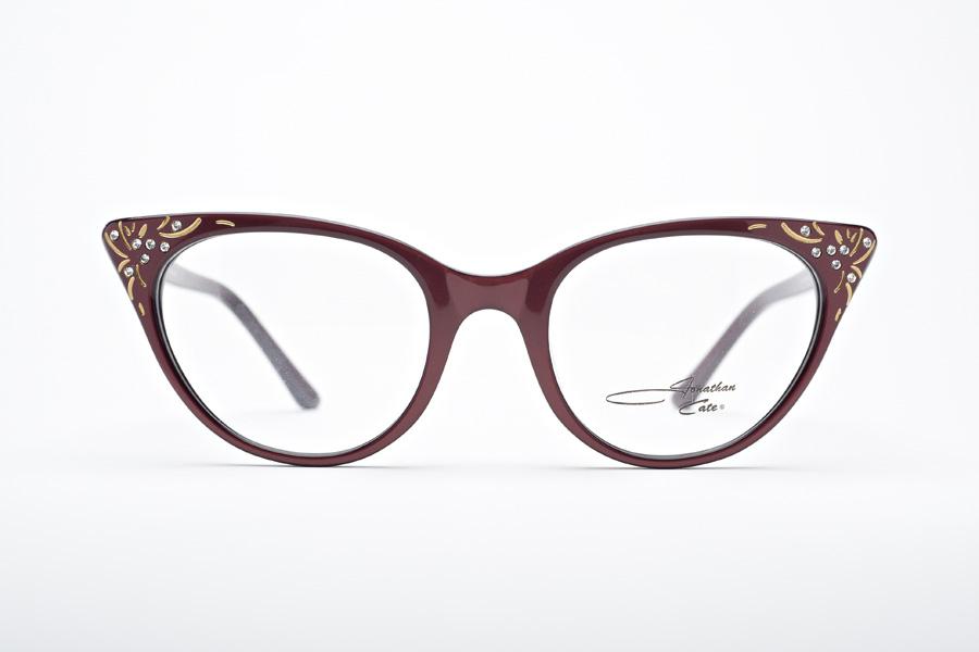 Honey Hush Embellished Retro Cat Eye Glasses By Jonathan
