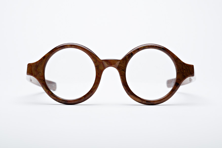 O Ring | Thick Round Glasses by Kala