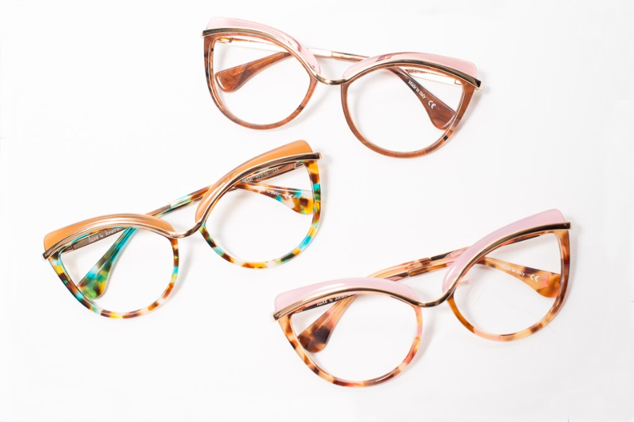 Livorno Big Cat Eye Glasses By Jonathan Cate