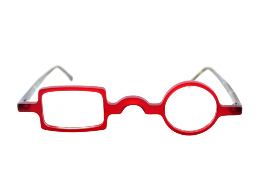 Square Circle Glasses Idiosyncratic Two Face By Social Eyes