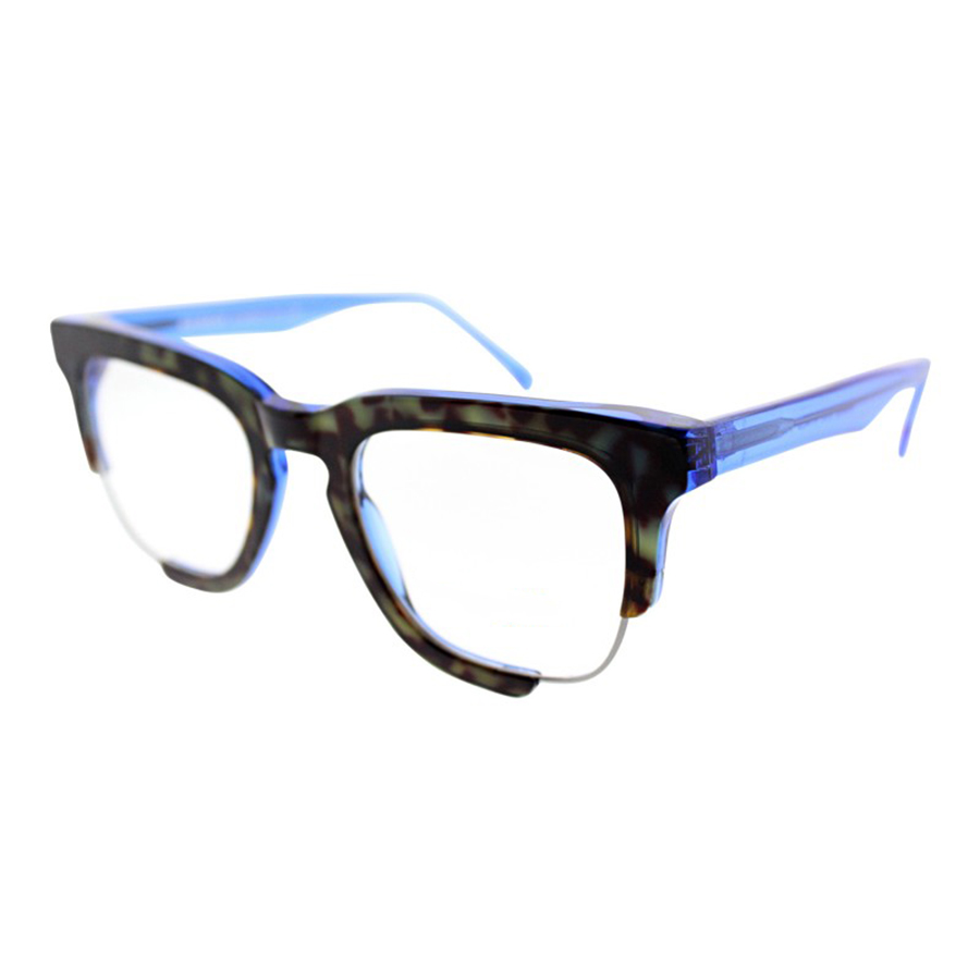 Unique Eyeglasses with Cutout Corners - Mend by Social Eyes